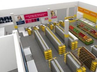 תכנון ועיצוב סופרמרקט-בי סמארט