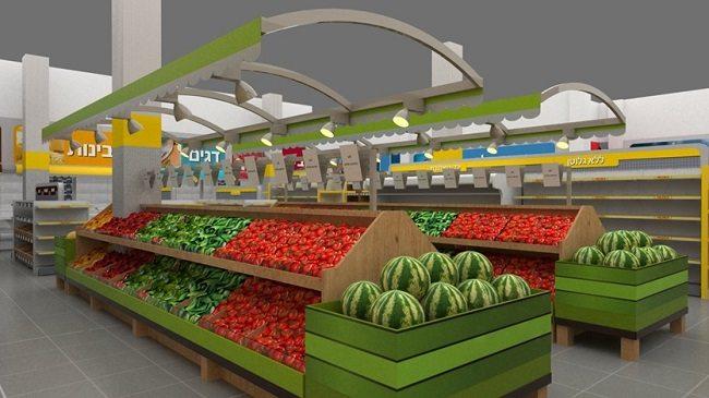 תכנון של סופרמרקט