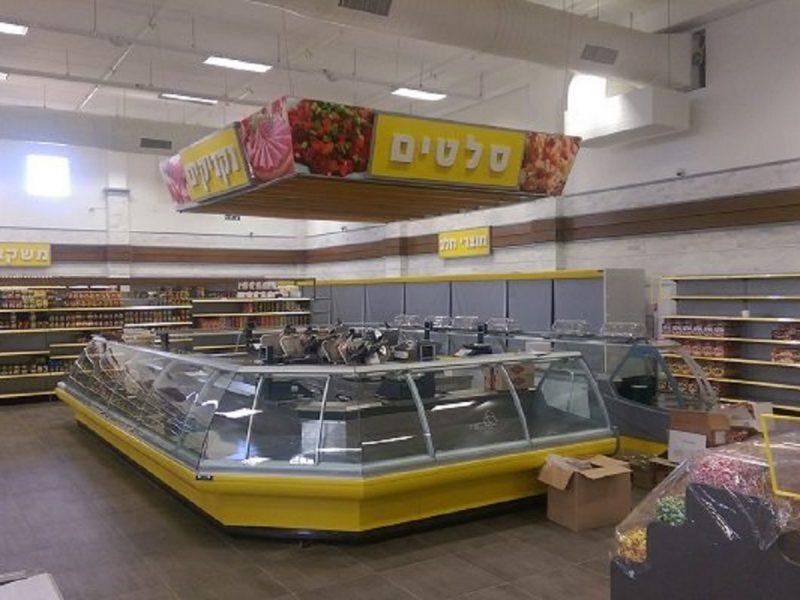 עיצוב ותכנון מעדנייה וסופרמרקט