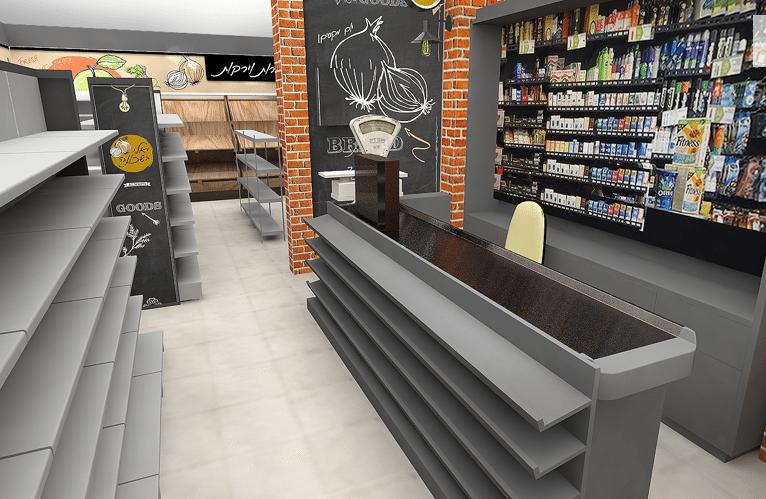 עיצוב חנות-בי סמארט-יאלי בשכונה