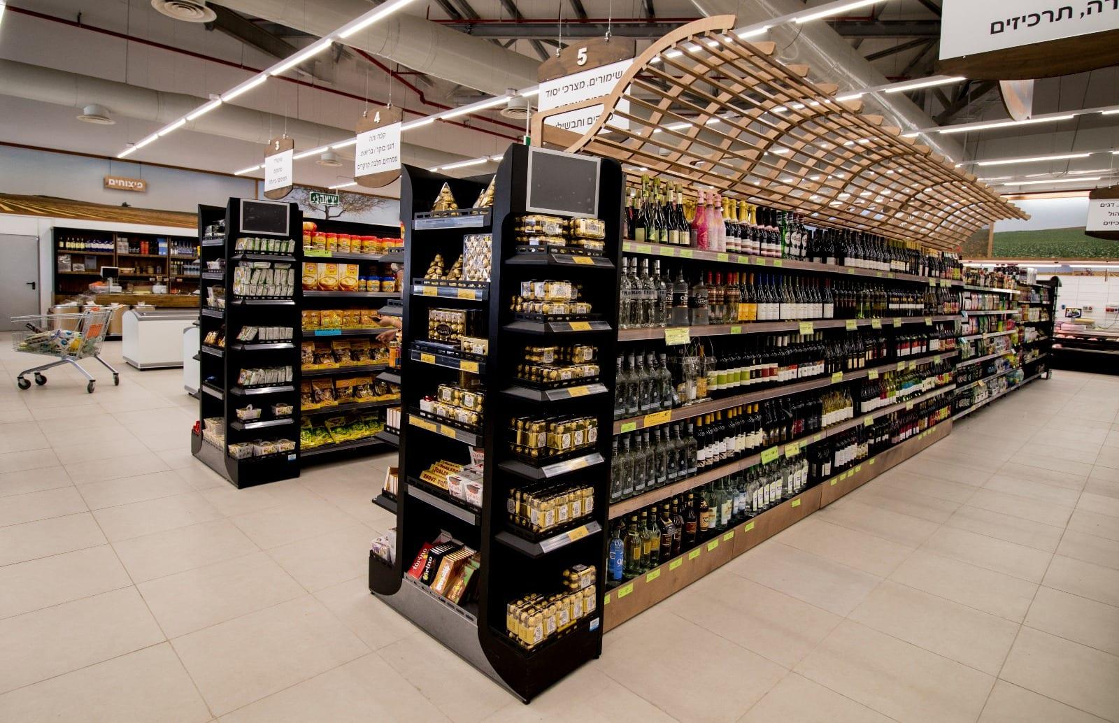 תכנון ועיצוב סופרמרקט - סופר אשכול